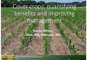 screen shot of ag and environment webinar