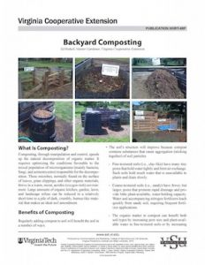 cover of backyard composting