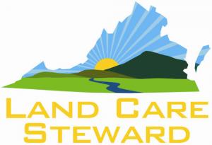 logo displaying landcade state of va
