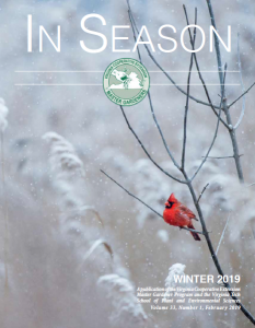 cover of winter 2019 in season